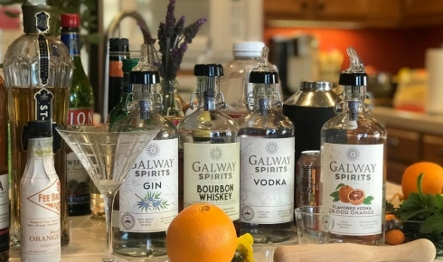 Galway Spirits Offers Curbside Pick-up and Delivery